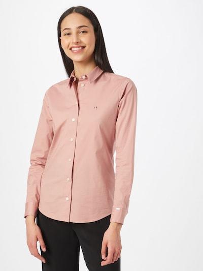 Calvin Klein Bluse in rosé, Modelansicht