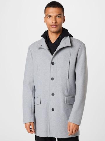 SELECTED HOMME Преходно палто 'MORRISON' в сиво