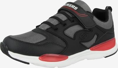 Dockers by Gerli Sneakers in de kleur Grijs / Zwart, Productweergave