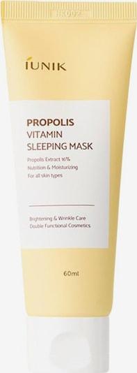 iUnik Nachtmaske 'Propolis Vitamin' in naturweiß, Produktansicht