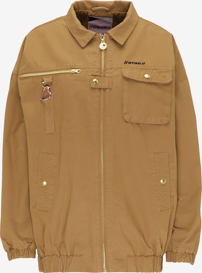 MYMO Jacke in karamell, Produktansicht