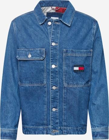 Tommy Jeans Kevad-sügisjope, värv sinine