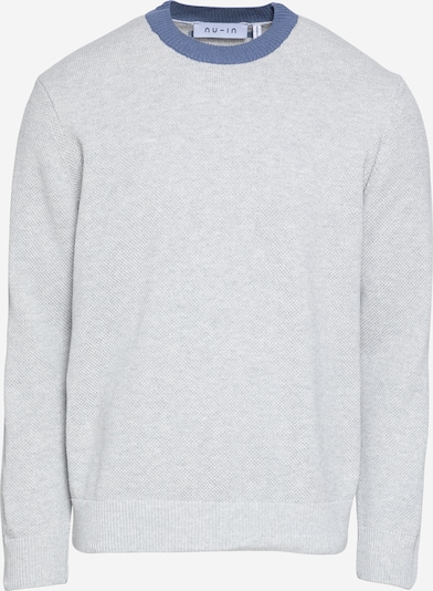 NU-IN Jersey en azul ahumado / gris claro, Vista del producto