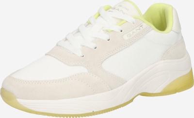 GANT Sneaker 'Calinne' in beige / weiß, Produktansicht