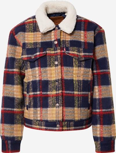 LEVI'S Jacke in beige / navy / rot / weiß, Produktansicht