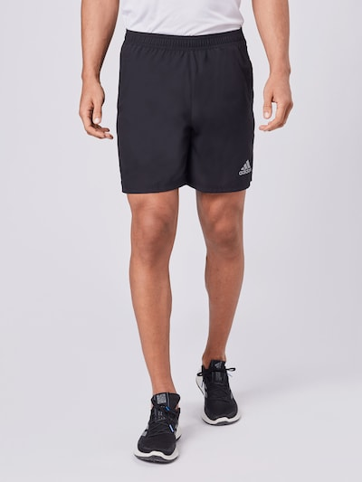 ADIDAS PERFORMANCE Sportovní kalhoty 'OWN THE RUN' - černá, Model/ka