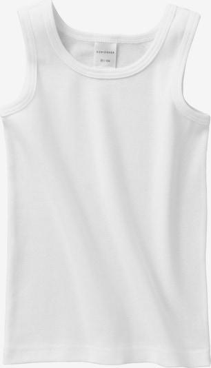 SCHIESSER Unterhemd in weiß, Produktansicht
