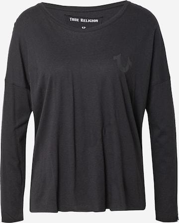 True Religion Μπλουζάκι σε μαύρο