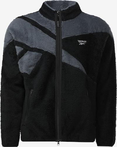 Reebok Classic Fleece jas in de kleur Grijs / Zwart, Productweergave