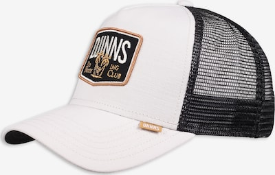 DJINNS Cap 'Do Nothing' in hellbraun / schwarz / offwhite, Produktansicht