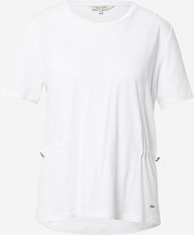 Tricou 'Jorja' Herrlicher pe alb murdar, Vizualizare produs