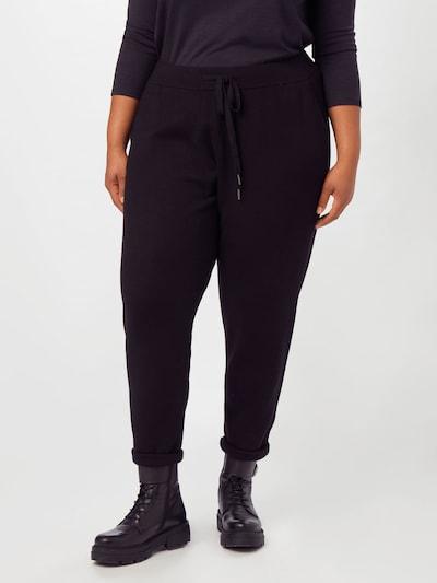 KAFFE CURVE Hose in schwarz, Modelansicht