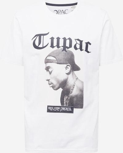Redefined Rebel T-Shirt 'Noah' in dunkelgrau / schwarz / weiß, Produktansicht