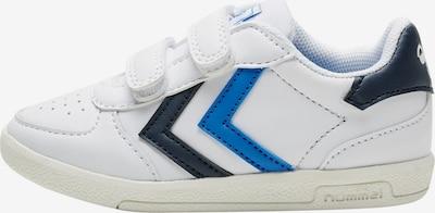 Hummel Sneaker Low in blau / dunkelblau / weiß, Produktansicht
