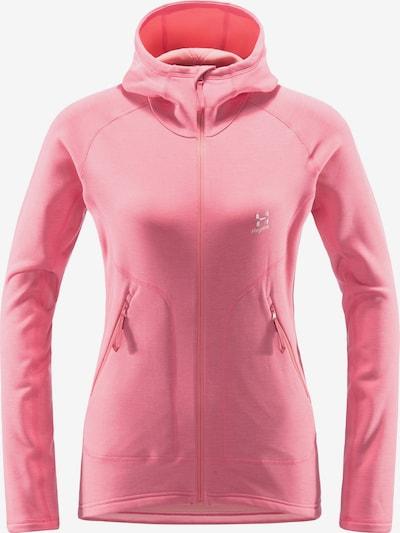 Haglöfs Functionele fleece jas 'Heron' in de kleur Lichtroze, Productweergave
