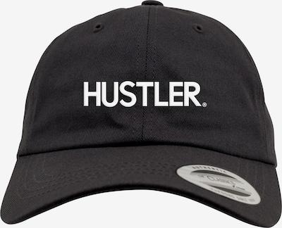 Mister Tee Pet ' Hustler Dad Cap ' in de kleur Zwart: Vooraanzicht