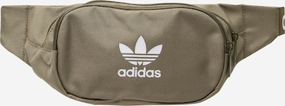 ADIDAS ORIGINALS Fanny Pack in Olive / White, Item view