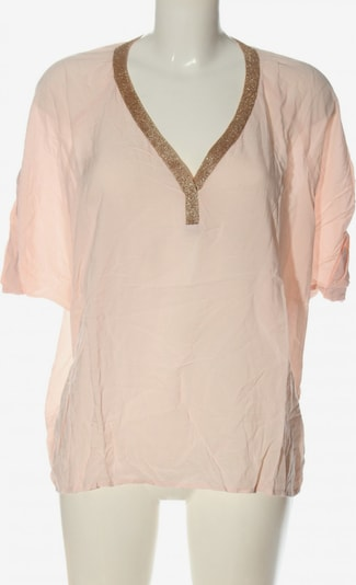 Juicy Couture Kurzarm-Bluse in M in creme, Produktansicht
