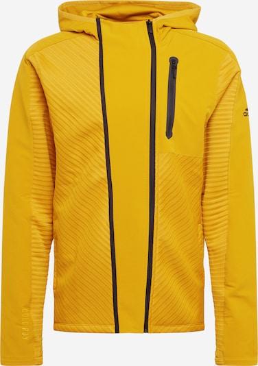 sárga / fekete ADIDAS PERFORMANCE Sportdzseki, Termék nézet
