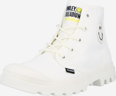 Palladium Lace-up boot 'PAMPA HI SMILEY BE KIND' in White, Item view