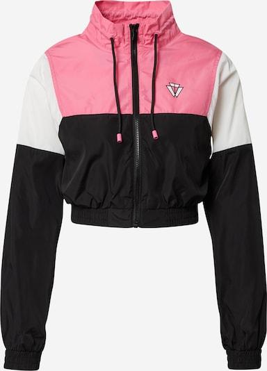 Tally Weijl Jacke 'SJAPEKOTO' in pink / schwarz / weiß, Produktansicht