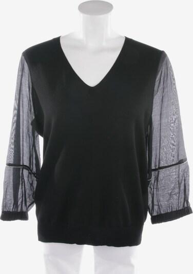 Peserico Wollstrickpullover in L in schwarz, Produktansicht