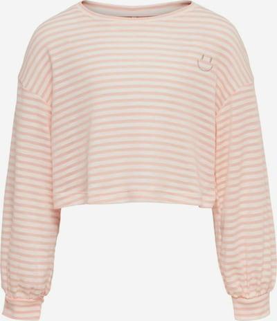 KIDS ONLY Shirt in de kleur Rosa / Wit: Vooraanzicht