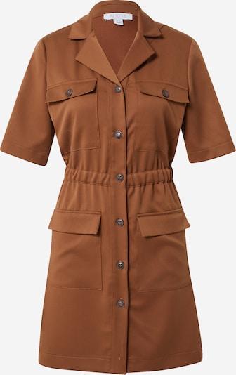 Aligne Robe-chemise 'Caledonia' en noisette, Vue avec produit