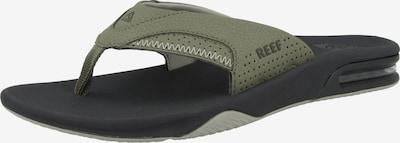 REEF Strand-/Badeschuh ' Fanning ' in khaki / schwarz, Produktansicht
