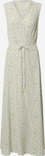 minimum Kleid 'Elica' in dunkelgelb / grau / weiß, Produktansicht