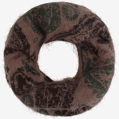 usha FESTIVAL Écharpe tube en marron / chocolat / vert foncé, Vue avec produit