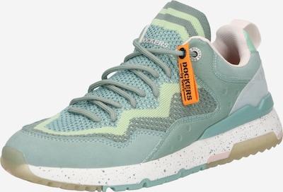 Dockers by Gerli Baskets basses en menthe / vert pastel, Vue avec produit