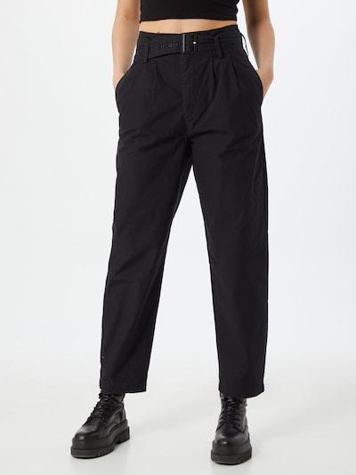 LEVI'S Pantalon à pince 'TAILOR' en bleu nuit, Vue avec modèle