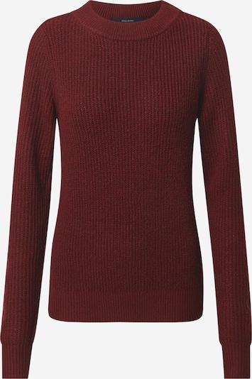 VERO MODA Pullover 'RUBERTA' in dunkelrot, Produktansicht