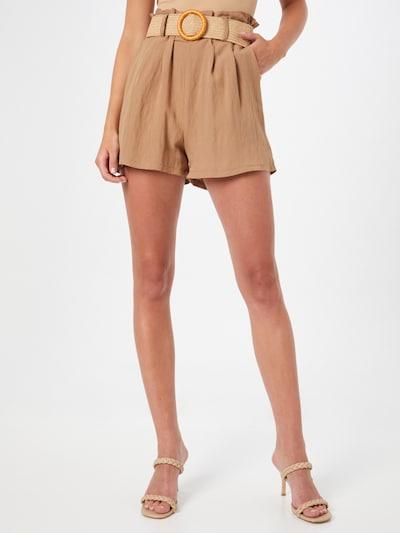 ZABAIONE Shorts 'Ina' in camel, Modelansicht