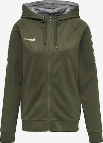 Hummel Sportief sweatshirt in Groen