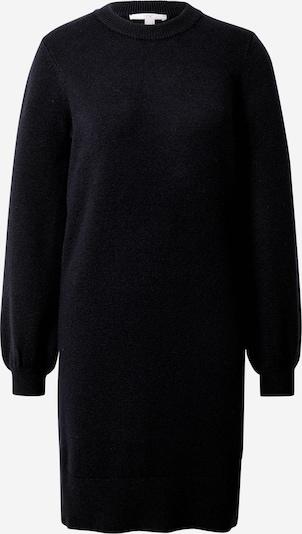 EDC BY ESPRIT Gebreide jurk in de kleur Zwart, Productweergave