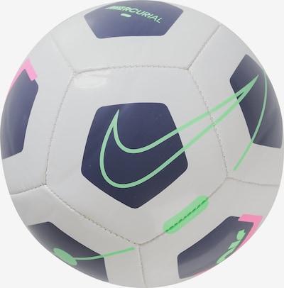 NIKE Ball 'MERC SKLS SP2' in rauchblau / neongrün / neonpink / weiß, Produktansicht