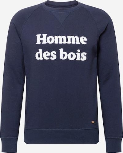 FAGUO Sweatshirt 'DARNEY' in navy / weiß, Produktansicht
