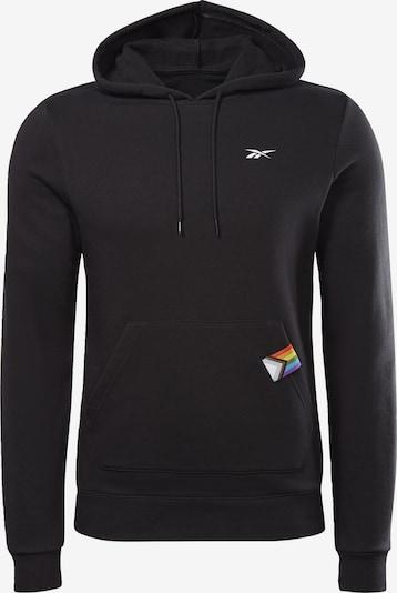 REEBOK Sportsweatshirt in gelb / mischfarben / schwarz / weiß, Produktansicht
