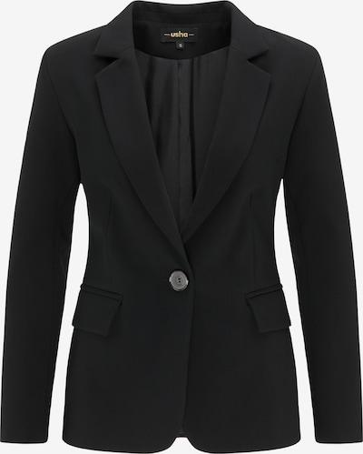 usha BLACK LABEL Blazer en noir, Vue avec produit