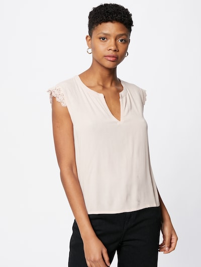 ABOUT YOU Blouse 'Pearl' in de kleur Rosa, Modelweergave