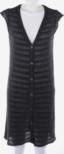 Zadig & Voltaire Feinstrickweste in S in schwarz / silber, Produktansicht