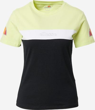 ELLESSE Funktsionaalne särk 'Becaert' pastellkollane / oranž / pastellpunane / must / valge, Tootevaade