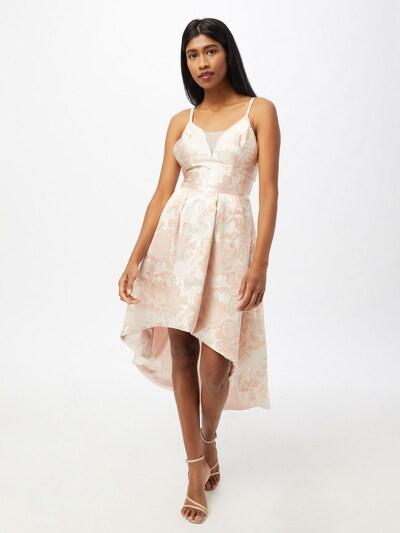 Chi Chi London Kleid in pfirsich / puder / pastellpink, Modelansicht