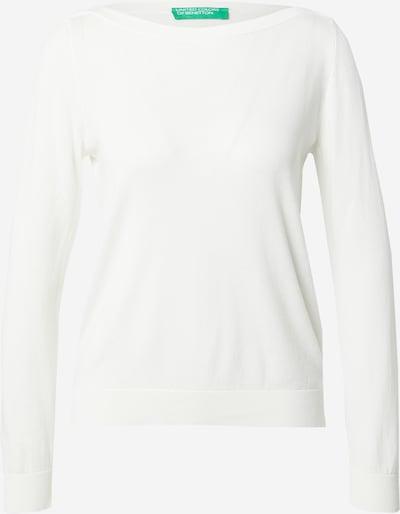 Megztinis iš UNITED COLORS OF BENETTON , spalva - balta, Prekių apžvalga