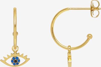 Estella Bartlett Náušnice - modrá / zlatá / černá, Produkt