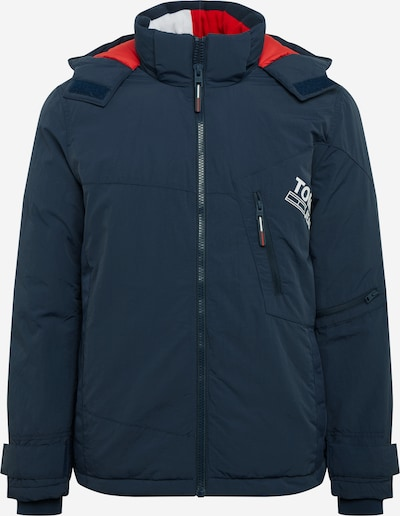 Tommy Jeans Kurtka zimowa w kolorze granatowy / czerwony / białym, Podgląd produktu