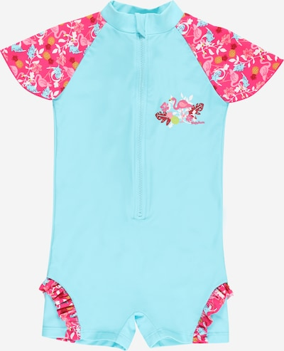 Costume intero 'Flamingo' PLAYSHOES di colore blu chiaro / colori misti, Visualizzazione prodotti