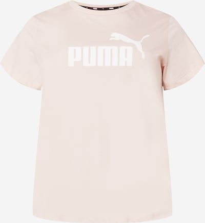 PUMA T-Shirt in rosa / weiß, Produktansicht